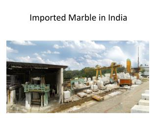 Indian granite in India
