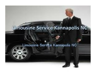 Affordable Limousine Service in Kannapolis NC