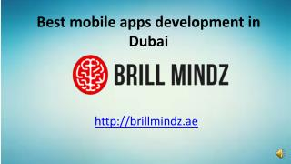 Mobile application development company Dubai