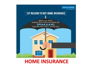 Why should you buy a house insurance policy?