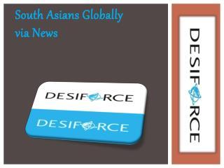 South Asians Globally via News