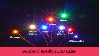 Designer LED Lights Suppliers in UAE