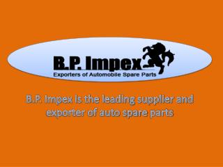 Genuine Suzuki Spare Parts Dealers In India