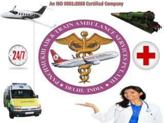Medical Emergency Air Ambulance Services in Patna and Delhi