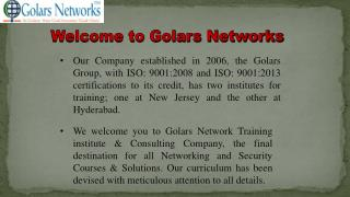 CCNA Training in Hyderabad
