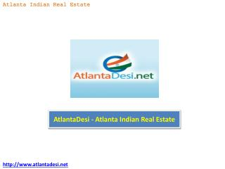 AtlantaDesi - Atlanta Indian Real Estate