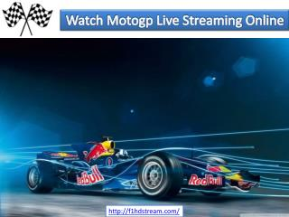 Watch Motogp Live Streaming Online