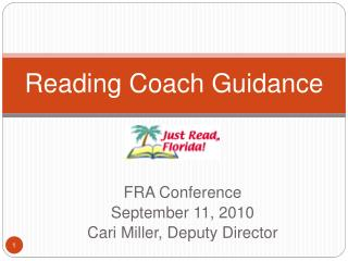 Reading Coach Guidance