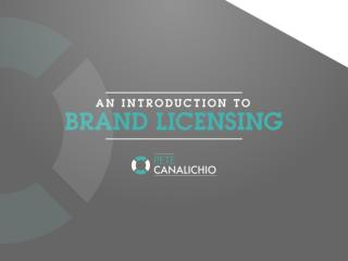Introduction to Brand Licensing | Brand Licensing Expert | Brand Licensing