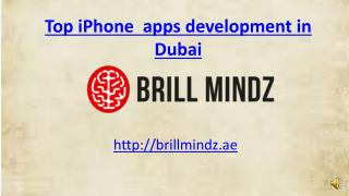 iphone app development company Dubai