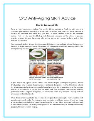 Get Best Skincare & Anti Aging Skin Care  Cream or Products in USA