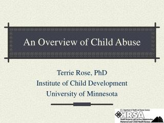 An Overview of Child Abuse