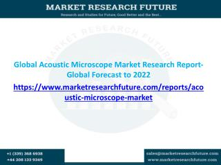 Global Acoustic Microscope Market Research Report- Global Forecast to 2022