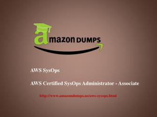 Study Material For aws sysops administrator associate - AmazonDumps.us