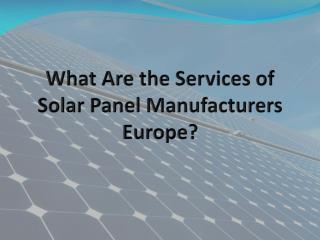 solar charging stations