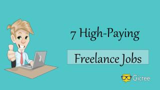 7 High-Paying Freelance Jobs