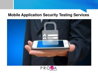 Mobile Application Security Testing Services