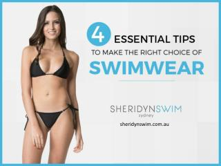 How to Buy the Best Swimwear