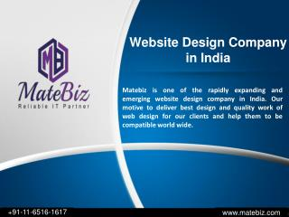 Attractive & Responsive Web Design Company in India