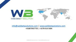 Web Design, SEO and Development Company - WebBeta Solution