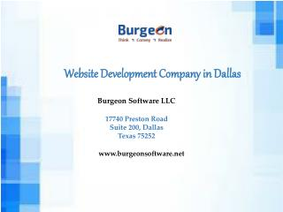 Website Development Company in Dallas