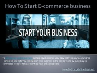 How to Start Multi Vendor eCommerce Website