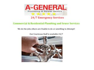 A-General Water and Sewer Cleaning Service NJ