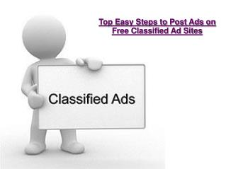 Top Easy Steps to Post Ads on Free Classified Ad Sites