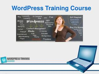 1 Day WordPress Training Course in Singapore