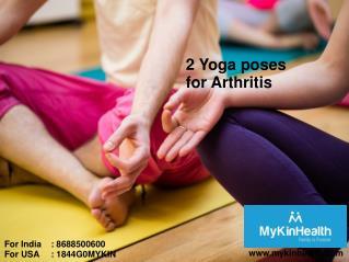2 Yoga poses for Arthritis problems