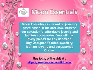 Online jewellery store buy designer and fashion jewelry moon essentials