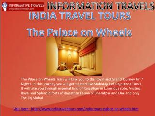 Discounted Palace on Wheels Tour