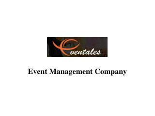 Eventales  - Corporate Event Management Companies in India