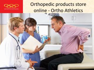 Orthopedic products store online - Ortho Athletics