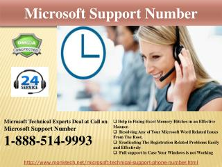 Get Expeditious Microsoft Support Number @1-888-514-9993