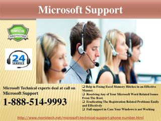 Get All-Out Microsoft Support @1-888-514-9993   Anytime