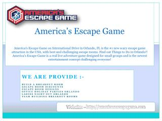 America's Escape Game