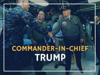 Commander-in-chief Trump