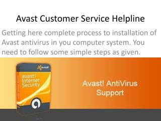 Download & Install AVAST Antivirus Help of Customer Support Team