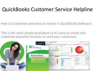 How to create Invoice in QuickBooks get Customer Support Helpline of Quickbooks