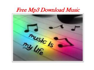 Free Mp3 Download Music