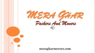 Top Notch Packers and Movers service in Kolkata - Mera Ghar Movers