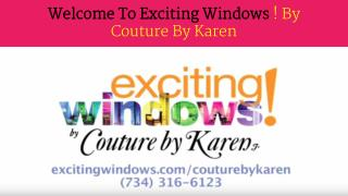 Tips for great window treatments in Monroe