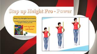 Step Up Height Growth - A powerful remedy to increase height