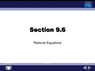 Section 9.6