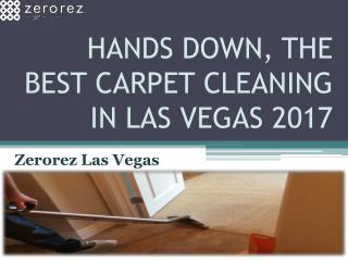Handsdown, the Best Carpet Cleaning in Las Vegas 2017