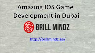 ios game development companies in Dubai