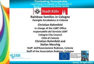Combating Homophobia. Local Policies for Equality on the grounds of  Sexual Orientation and Gender Identity