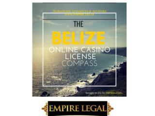 Belize Online Casino License