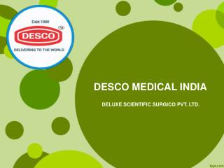 Anaesthesia Equipments and Products Manufacturers India | DESCO